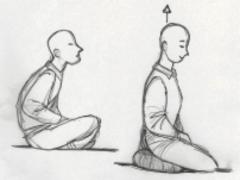 phap bhan, postura di meditazione