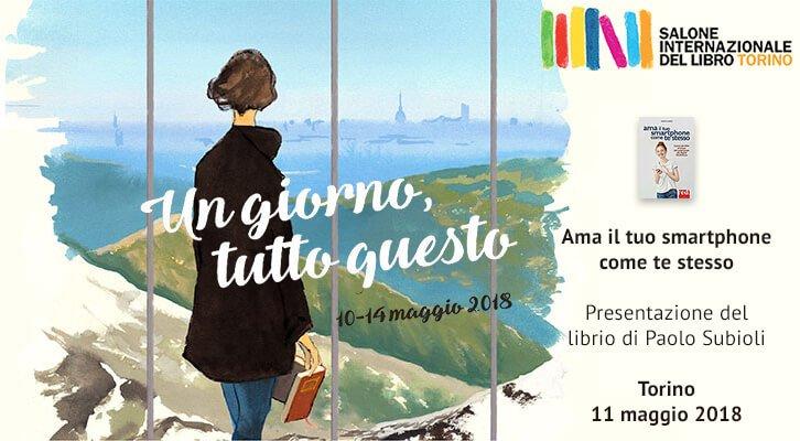 Vieni l'11 maggio al salone del lobro a Torino