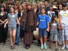 Thich Nhat Hanh (Thay) a Sacrofano (Roma), 2012